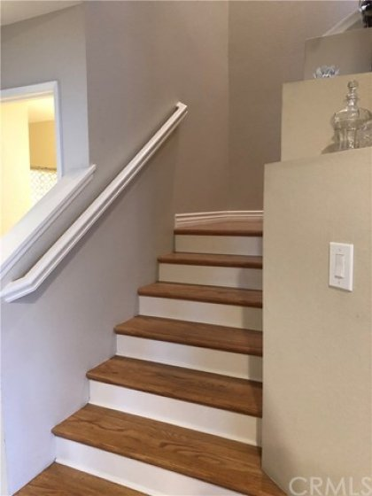 Hardwood Floors up the Stairs