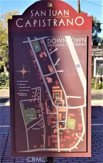 SJC TOWN CENTER - WALKING MAP TO SAN JUAN CAPISTRANO'S ATTRACTIONS!