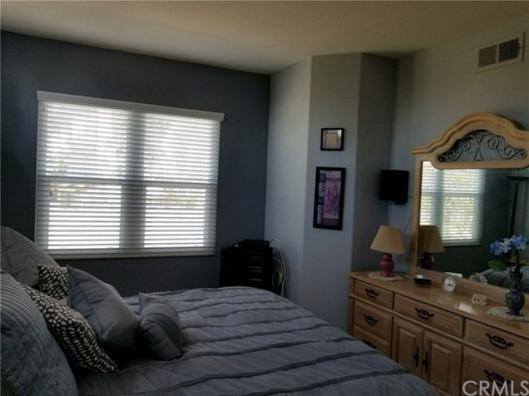 Master bedroom Is very spacious.