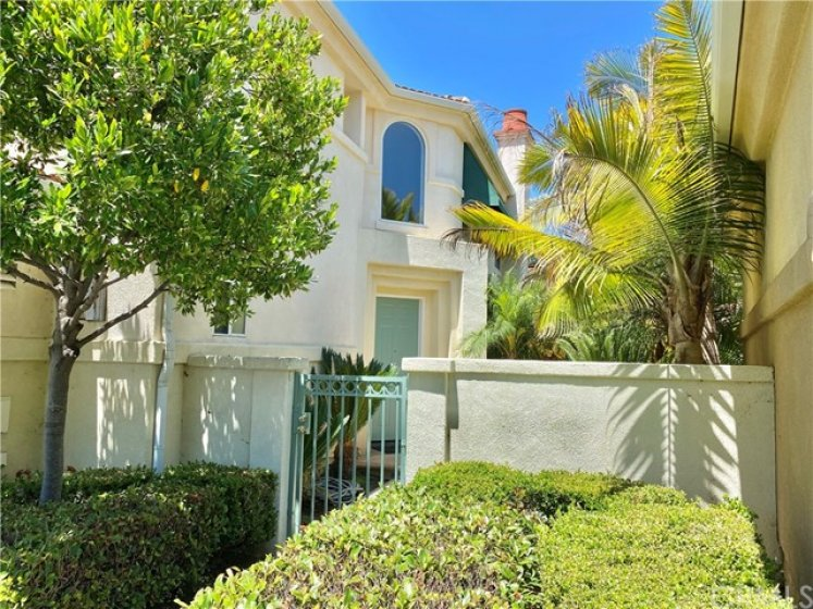 Attractive Front Gated Entry.