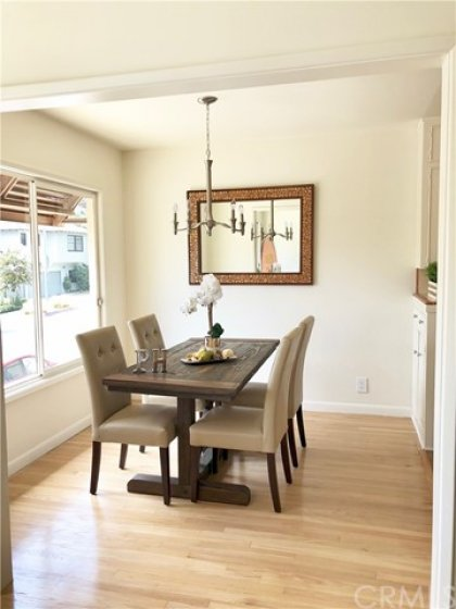 Quaint, charming, but still upscale dining area off the kitchen and living area.  Perfect for dinner parties, or that romantic candle lit dinner ;)