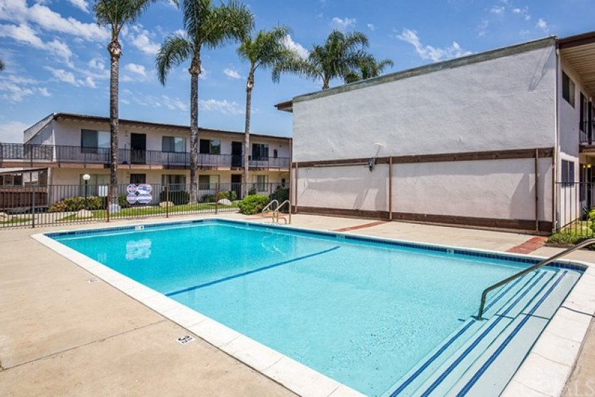 Relax and enjoy the Hampton Condo's pool!