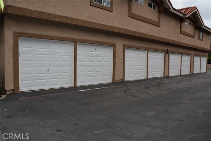 GARAGE IS THE 4TH DOOR DOWN