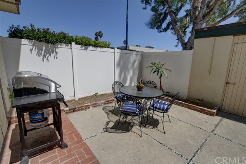 Spacious patio is perfect for entertaining