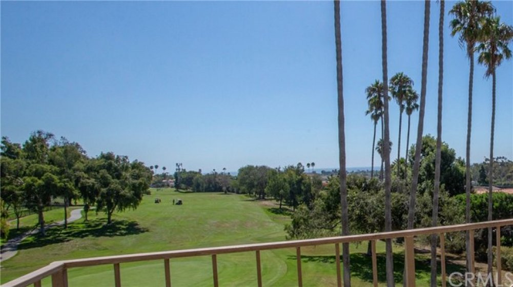 Golf course and ocean view from your private patio