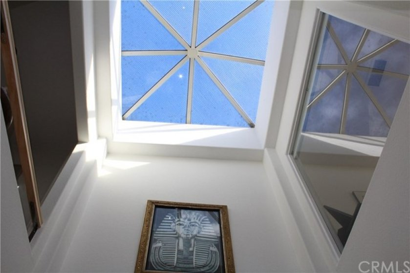 Large Open Atrium with skylight for plenty of Natural light