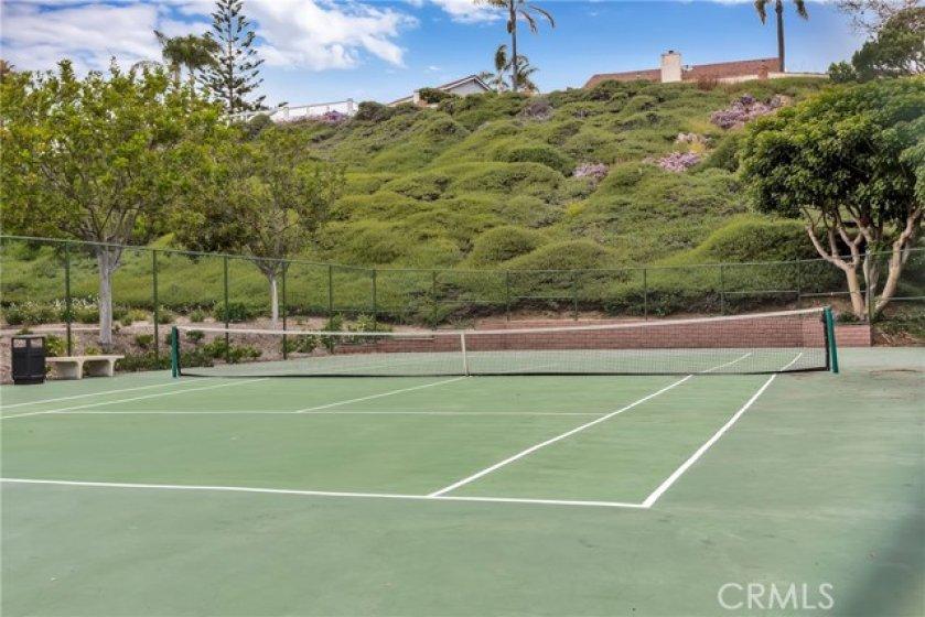Casablanca tennis court. Tennis anyone?
