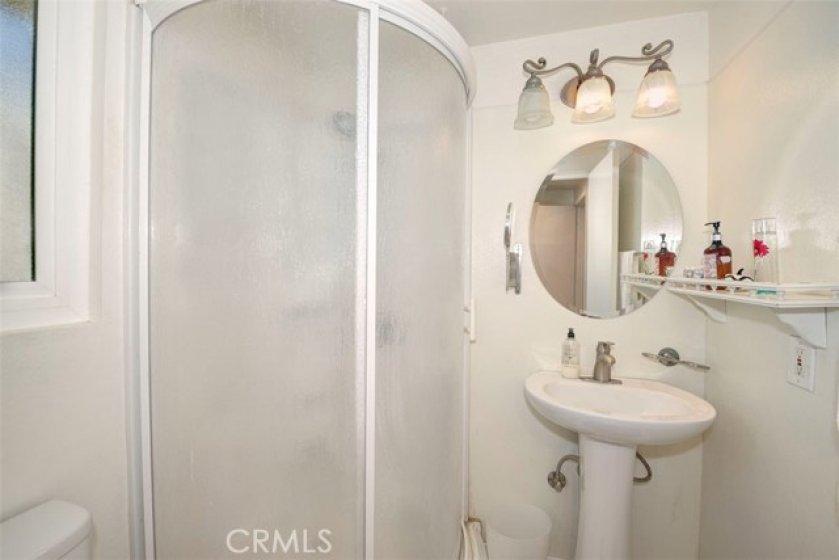 Guess bathroom.