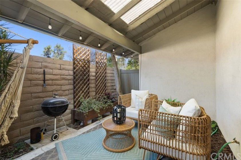 Spacious Patio for relaxing or entertaining.