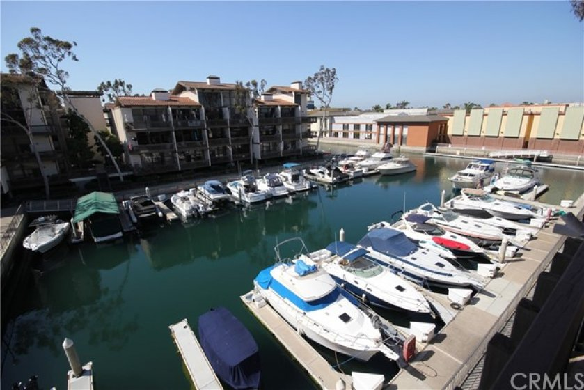 Panoramic view of the Marina from your private waterfront balcony!