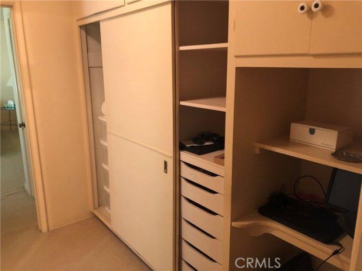 Hallway Cabinets and Storage.