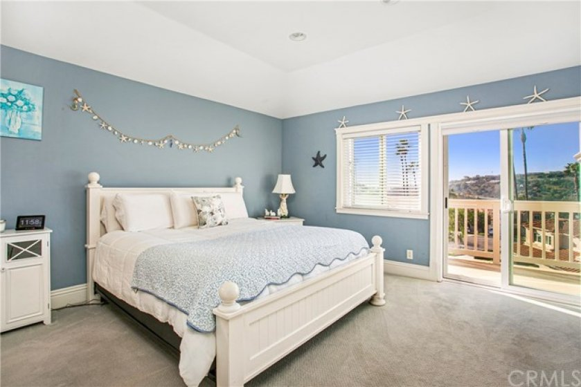 large master suite with panoramic views