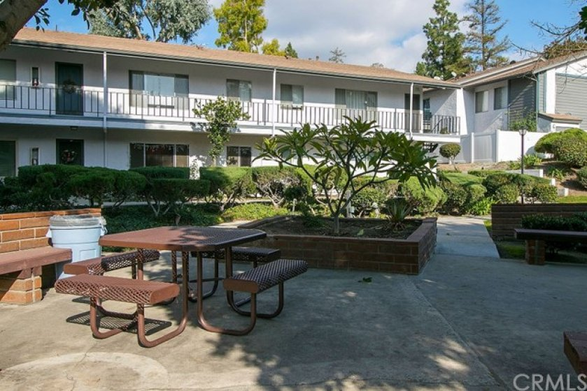 A larger picnic area is another amenity of the Woodlake Village Community you get to enjoy.