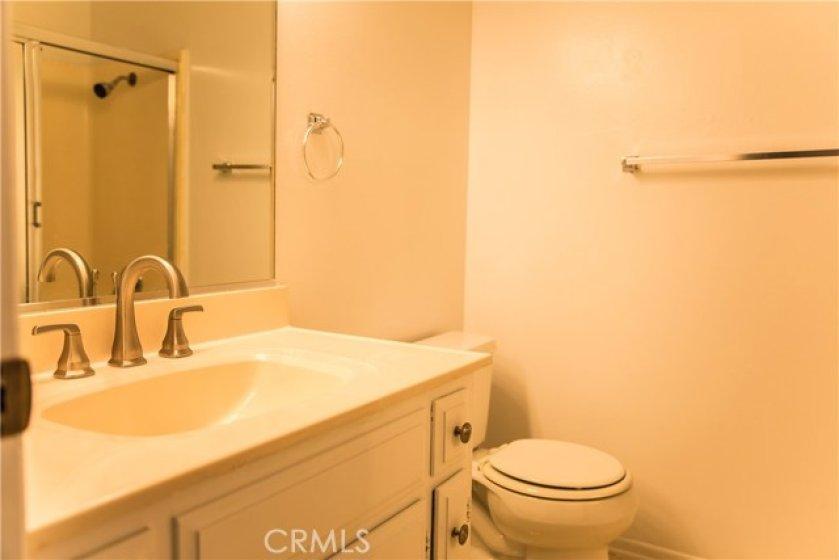 Second Bathroom and Bathtub