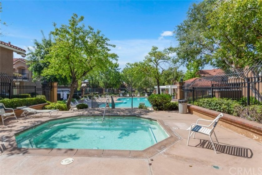 Community Pool and Spa.
