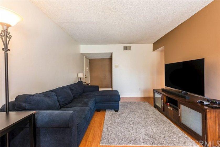 Opposite view of living room -