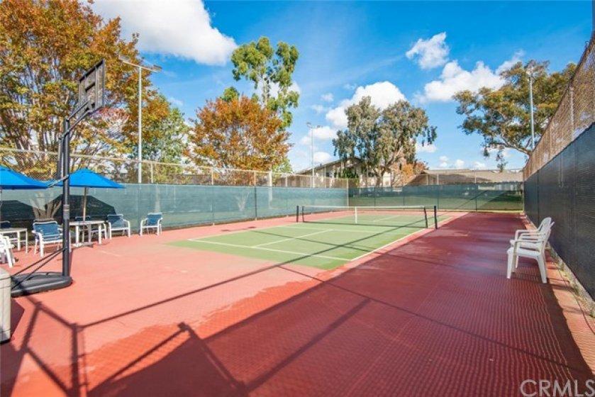 Tennis court