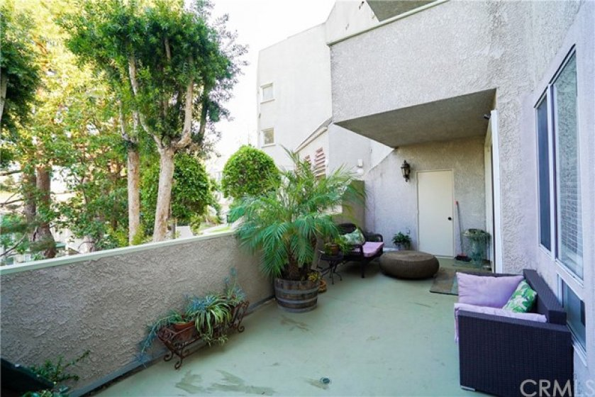 Large Balcony/Patio Area