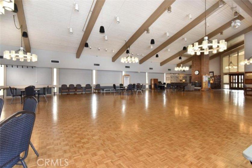 HOA huge community center