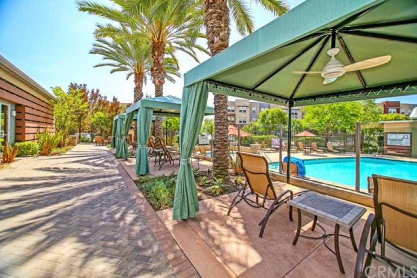 Six private cabanas are available for your enjoyment! Relax and enjoy the weekend.