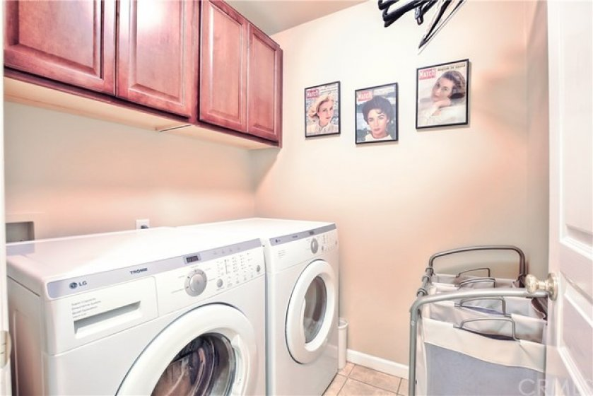 Upstairs Laundry with more Storage