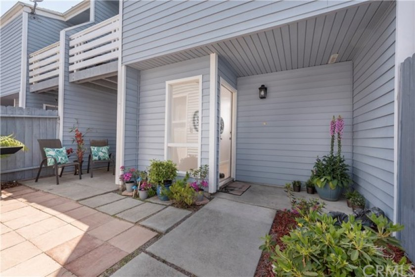 Entrance to Home--Spacious Private Courtyard