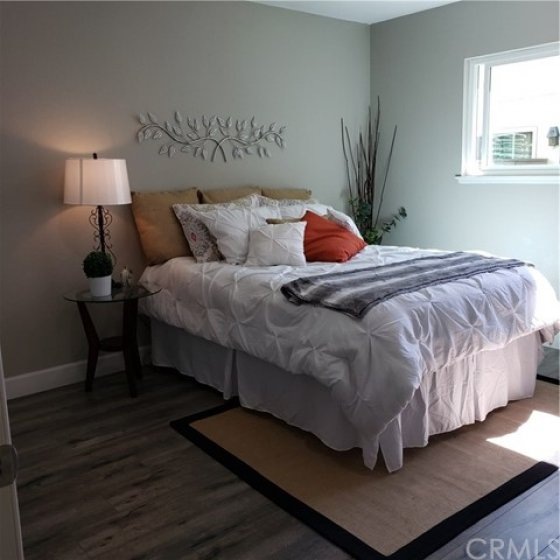 Soothing master bedroom