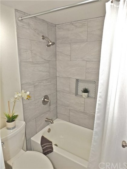 Recently redone upstairs ensuite bathroom