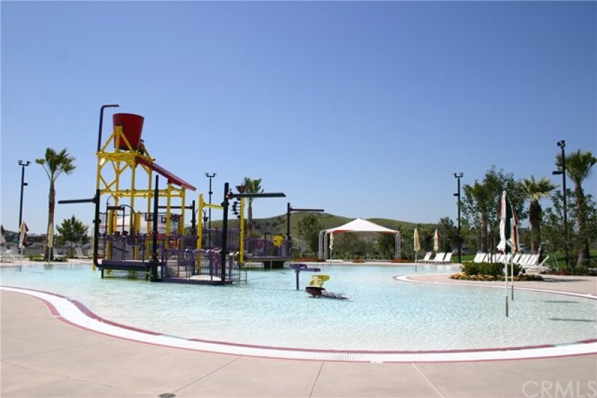The Ladera Ranch Water Park is a major attraction for residents during the hot summer months