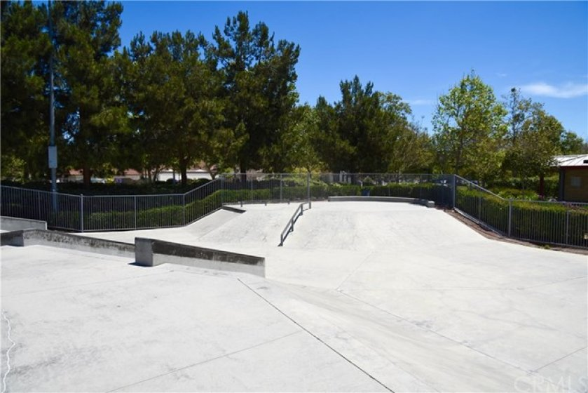 How many associations have your own skateboard park?  Yours does!
