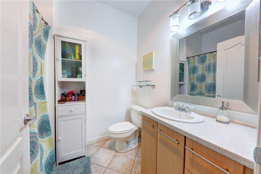 Full-size Master bathroom