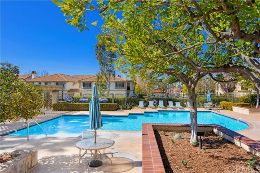Enjoy the community pool just steps from your home.