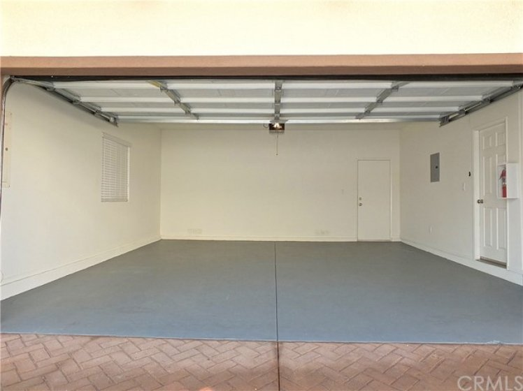 Garage. Laundry area is to the right before the door.