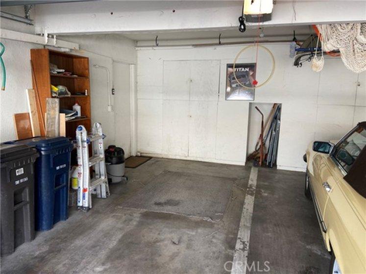 Shared garage view.