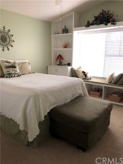 ANOTHER Master Bedroom!! This one has built in window seat!