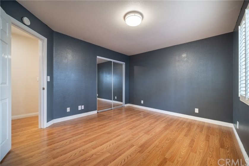1 of 2 large first floor bedrooms.