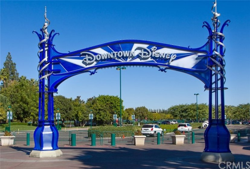 Downtown Disney is a great place for shopping, dining and entertainment, just minutes away.