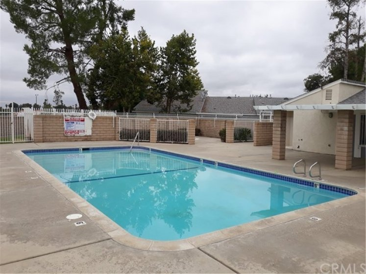 Community pool for those hot summer days.