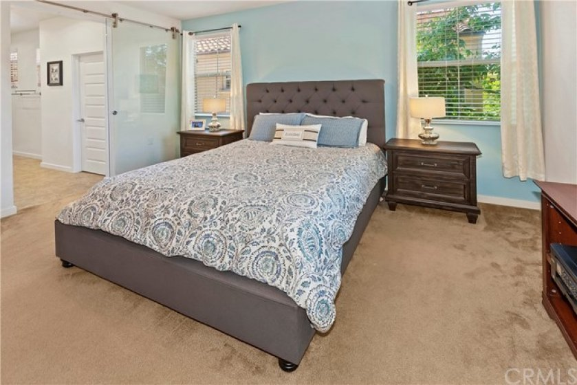 Plenty of room in this nearly 14'x12.5' Master bdrm.