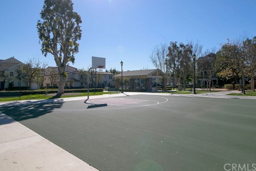 Montgomery Park sport court right across the street.