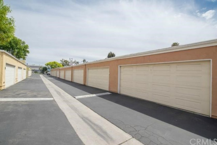 Look for Garage #18 just outside the gate. Extra large 2 car garage with lots of storage space!