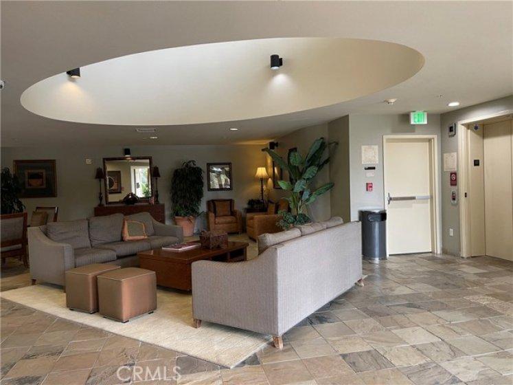 Lobby on each floor