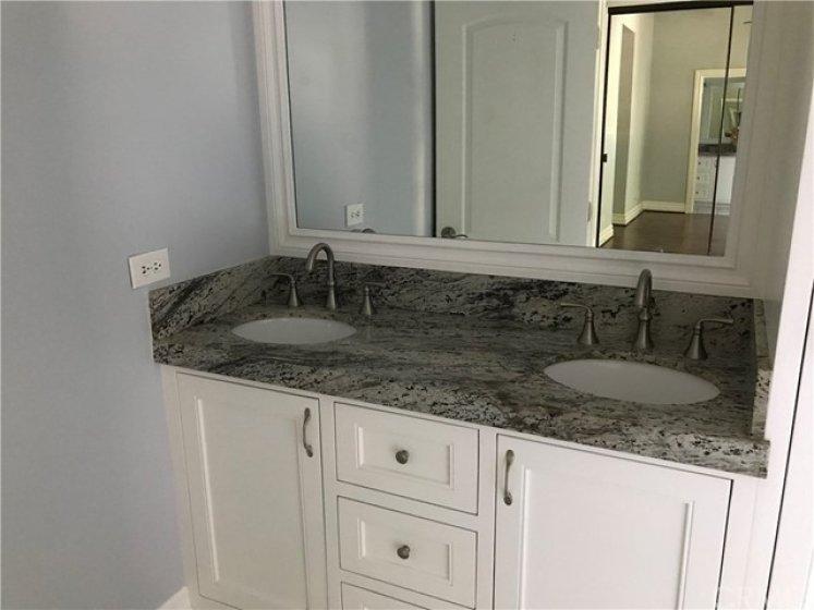 Dual Vanity in the Master Suite