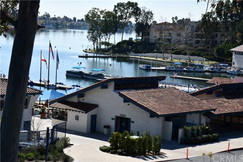 This is the doc area and community facilities of Lake Mission Viejo. Wow! California at its finest!