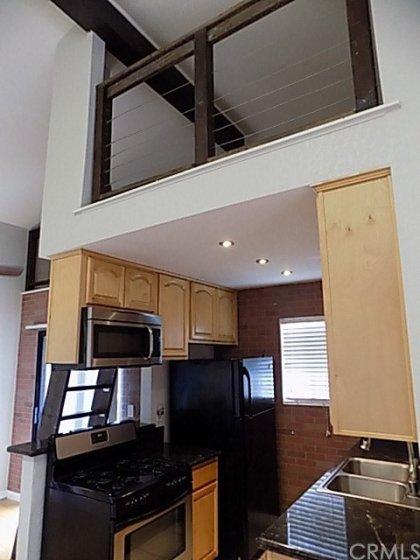 Storage/loft area above kitchen