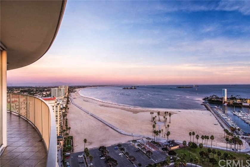 Simply the some of the best views along the entire Sothern California coast are yours to be had form this 30th floor Penthouse styled residence!