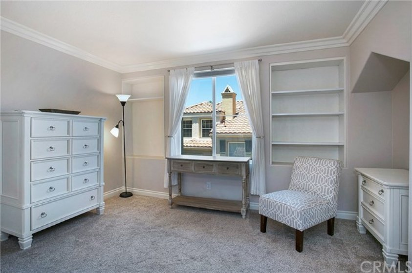 Room attached to Master suite is perfect for an office or nursery.