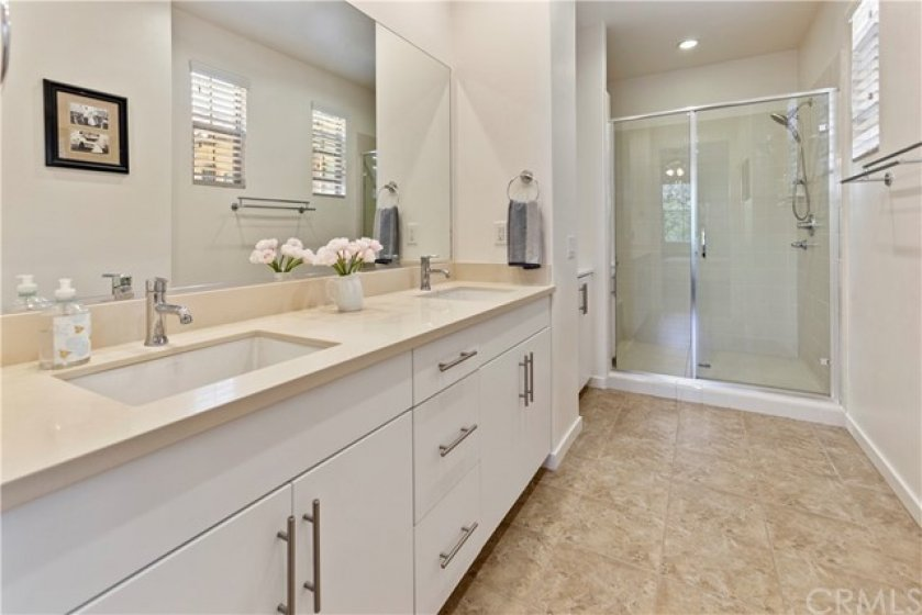 Lots of space and easy access to the shower; and plenty of natural light!