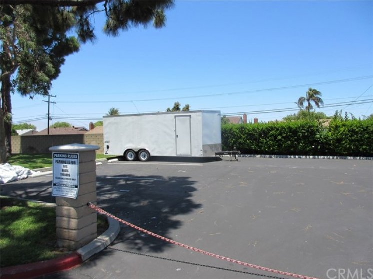 R V Parking for boats and RVs only $50.00 per Month
