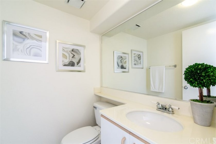 VERY Desirable downstairs Guest Bathroom!!!